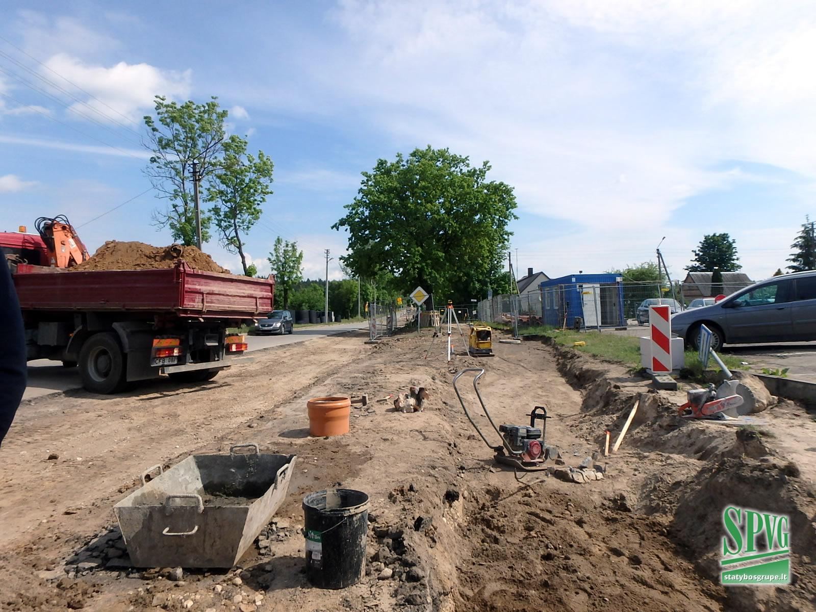 Vytauto Didžiojo gatvės rekonstrukcija Kelmėje