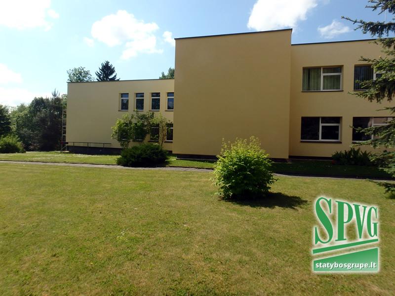 Kėdainių rajono Krakių gimnazijos pastato modernizavimas, statybos darbų techninė priežiūra, SPVG, Statybosgrupe