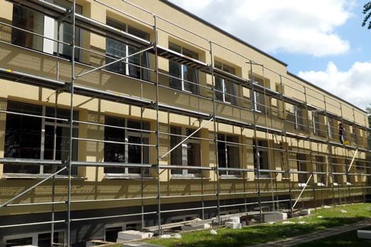 Renovuojamų objektų statybos darbų techninė priežiūra