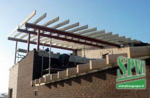 Gyvenamasis namas, statybos darbai, techninė priežiūra, pamatai, betonavimas, sienos, mūras, metalo kontrukcijos, stogas, įrengimas, fasadas, apdaila, SPVG